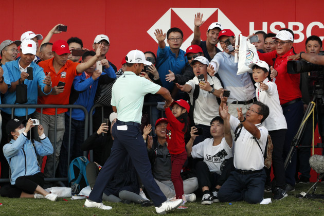 Schauffele reels in Finau to win HSBC title in playoff · The42