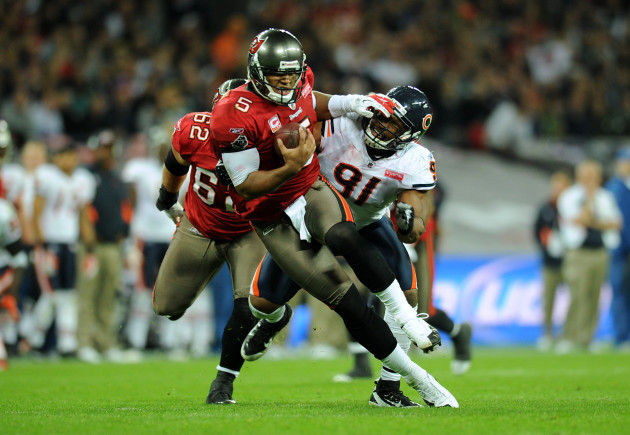 American Football - NFL - Tampa Bay Buccaneers v Chicago Bears - Wembley Stadium