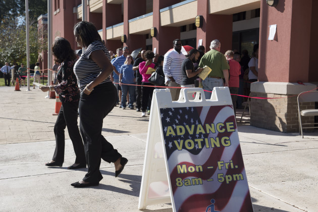 Midterm Elections 2018: Early Voting in Georgia