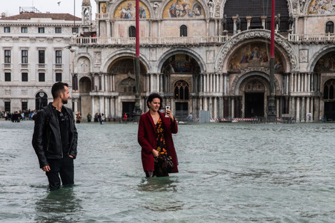 Italy: High Water in Venice