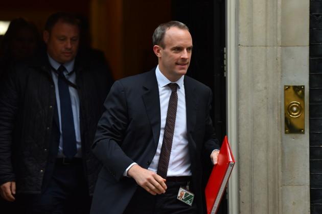 United Kingdom: U.K. Cabinet Ministers Attend Weekly Meeting