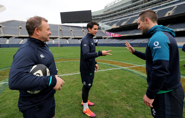 Richie Murphy with Joey Carbery and John Cooney