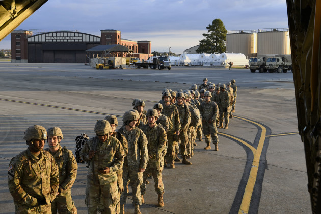 Trump Sends U.S. Army to Border with Mexico