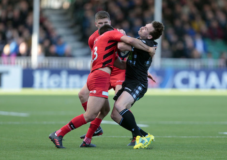 Glasgow Warriors v Saracens - Pool Three - European Champions Cup - Scotstoun Stadium