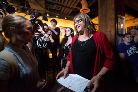 News: Christine Hallquist Primary Party