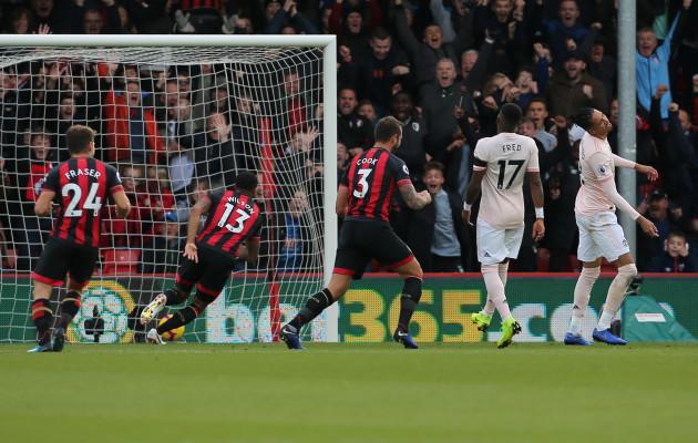 AFC Bournemouth v Manchester United - Premier League - Vitality Stadium
