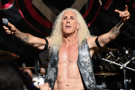 Dee Snider on stage for Fox & Friends - New York