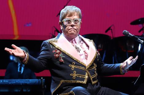 Elton John in concert - New York