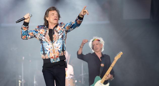 Rolling Stones concert in Stuttgart