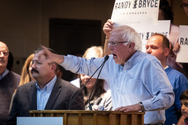 Kenosha WI: Sen. Bernie Sanders rallies in support of Wisconson Democratic candidates