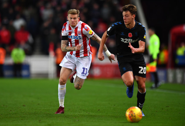 Stoke City v Middlesbrough - Sky Bet Championship - bet365 Stadium