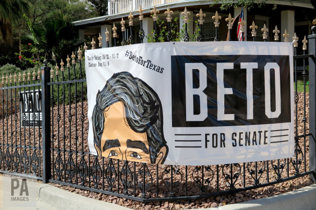Election Campaign in Texas