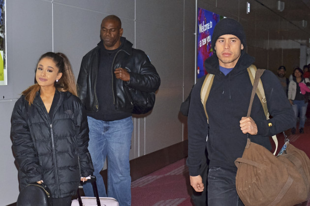 Ariana Grande Arrives In Japan