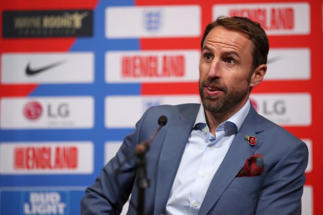 England Team Announcement - Wembley Stadium