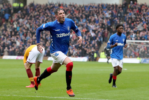 Motherwell v Rangers - Ladbrokes Scottish Premiership - Fir Park