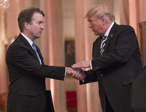 Judge Kavanaugh Swearing-In Ceremony