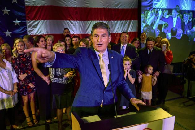 Election 2018 Senate Manchin West Virginia