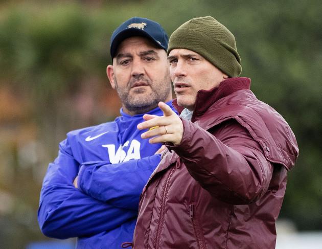 Mario Ledesma with Felipe Contepomi