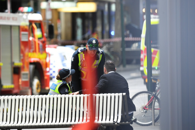 BOURKE STREET INCIDENT MELBOURNE