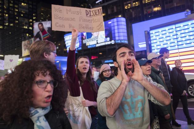 Russia Probe Protests