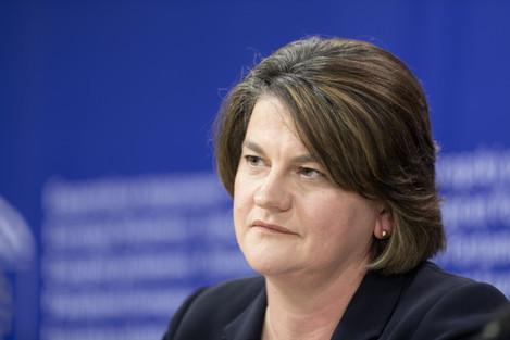 Arlene Foster At The EU Headquarters - Brussels