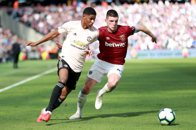 West Ham United v Manchester United - Premier League - London Stadium