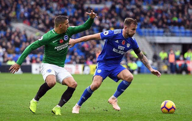 Cardiff City v Brighton and Hove Albion - Premier League - Cardiff City Stadium