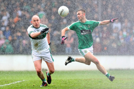 Brian McCormack and Liam Healy