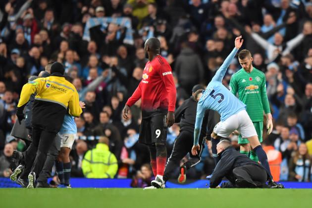 Manchester City v Manchester United - Premier League - Etihad Stadiuim