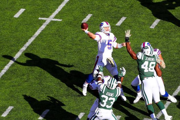 NFL: NOV 11 Bills at Jets
