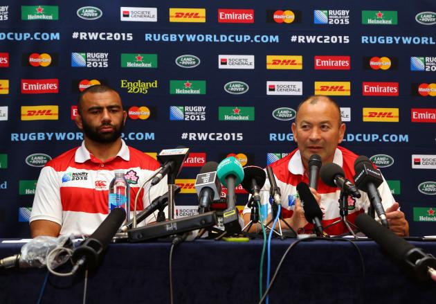 Rugby Union - Japan Press Conference - Hilton Brighton Metropole