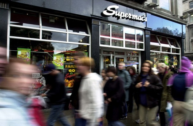 File Photo Fast food chain Supermac's has asked the EU regulator to cancel the use of the Big Mac