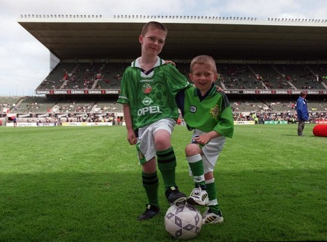 Republic of Ireland vs Northern Ireland 29/5/1999
