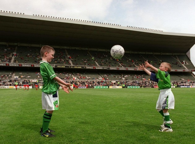 Republic of Ireland vs Northern Ireland 29/5/1999