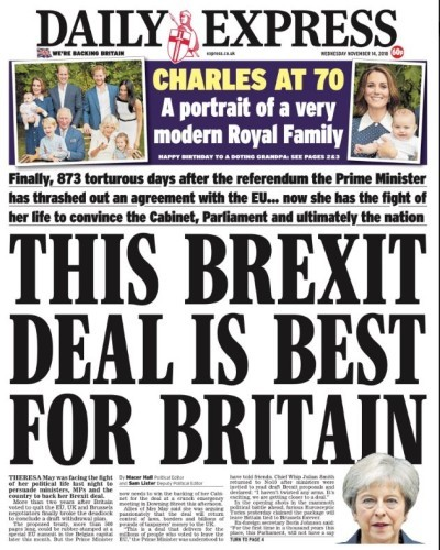 daily express brexit