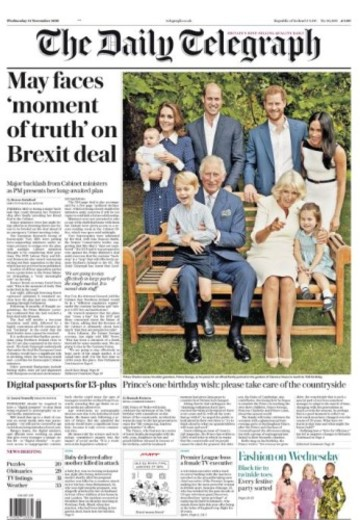 daily telegraph brexit