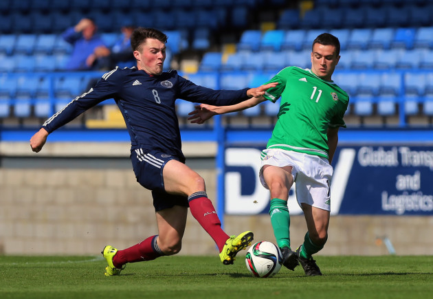 Soccer - UEFA Euro Under 21 Championships - Qualifying - Group Three - Northern Ireland v Scotland - Mourneview Park