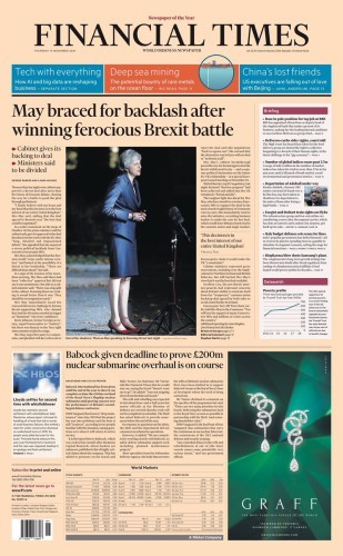 Splits', 'cracks' and a fight ahead: UK front pages react to