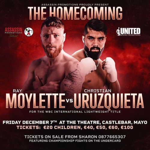 Ray Moylette homecoming