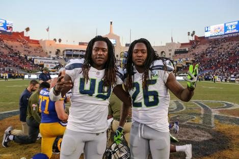 NFL 2018: Seattle Seahawks vs Los Angeles Rams NOV 11