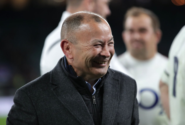 Eddie Jones after the game