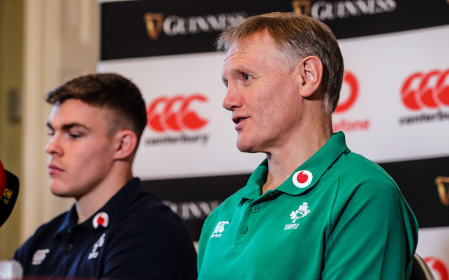 Garry Ringrose and Joe Schmidt