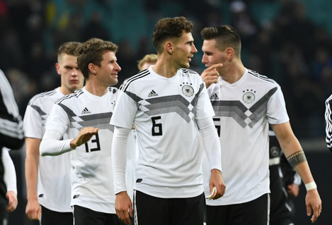 GES / Football / Germany - Russia, 15.11.2018