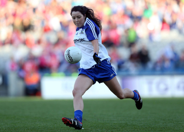 Cathriona McConnell misses a chance to level the match