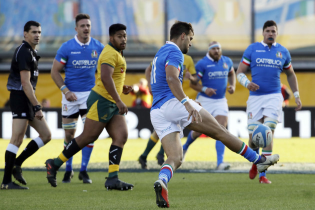 Italy Australia Rugby Union