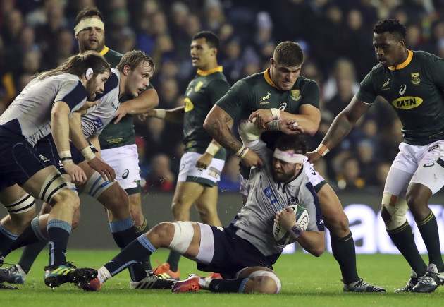 Britain Scotland South Africa Rugby