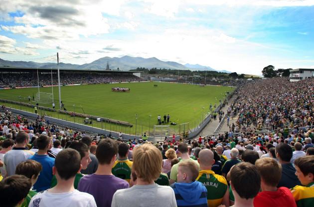 General view of Fitzgerald Stadium, Killarney
