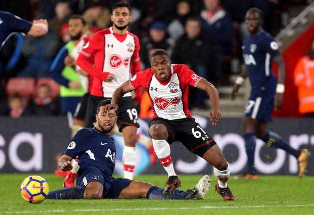 Southampton v Tottenham Hotspur - Premier League - St Mary's Stadium