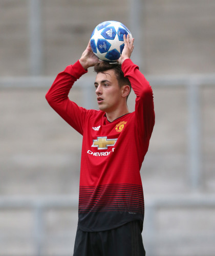 Manchester United v Juventus - UEFA Youth League - Group H - Leigh Sports Village