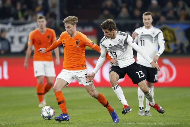 Germany: Germany vs Netherlands